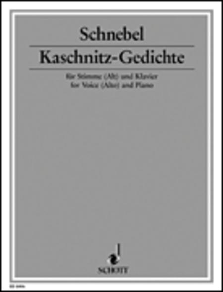 Kaschnitz-Gedichte