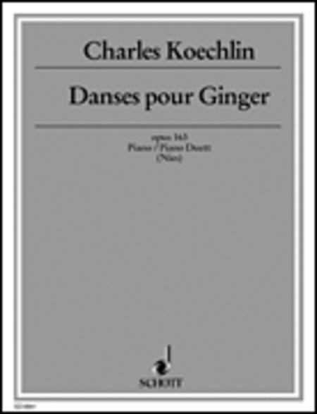 Danses pour Ginger op. 163
