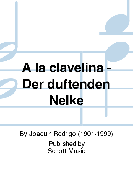 A la clavelina - Der duftenden Nelke