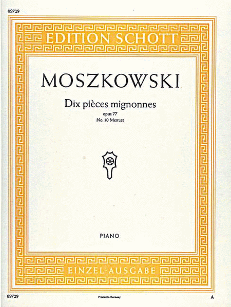 Dix Pieces Mignonnes op. 77