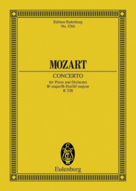 Concerto No. 6 Bb major KV 238
