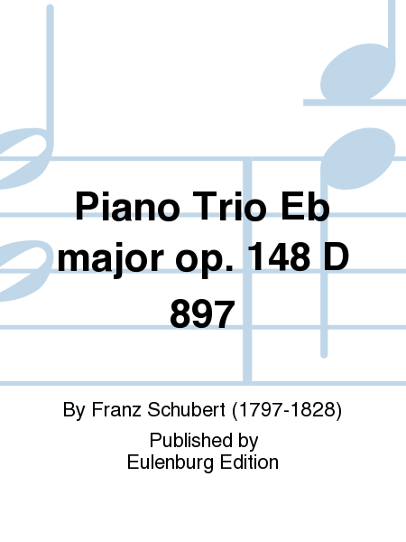 Piano Trio Eb major op. 148 D 897