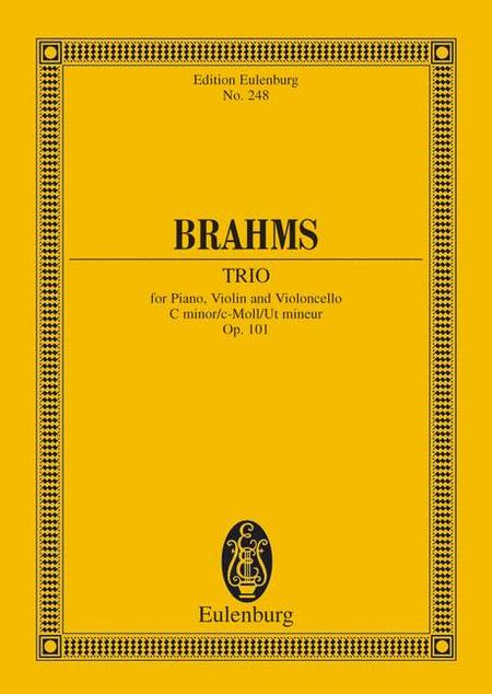 Piano Trio C minor op. 101