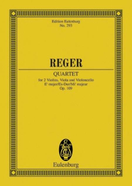 String Quartet Eb major op. 109