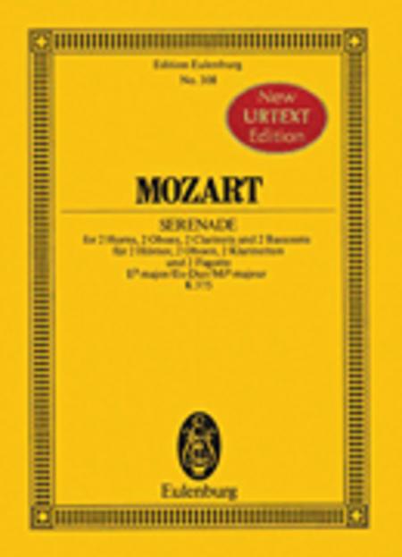 Serenade a 8 E flat major KV 375