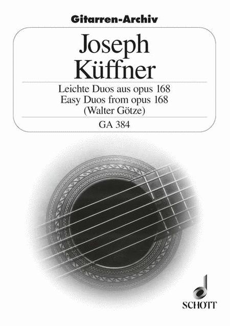 Easy Duos aus op. 168