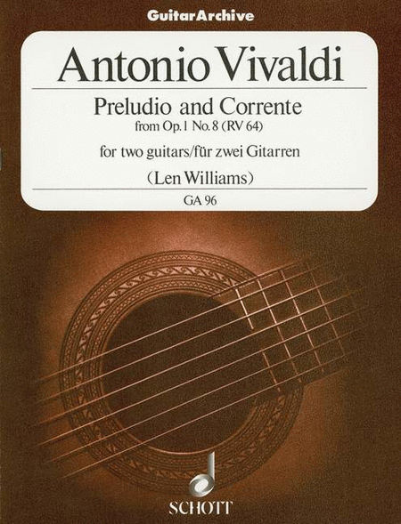 Preludio and Corrente op. 1/8 RV 64