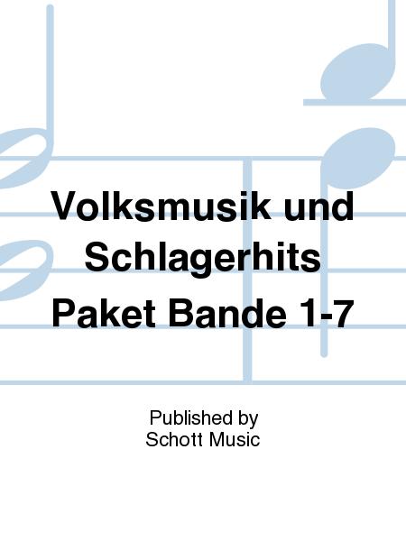 Volksmusik und Schlagerhits Paket Bande 1-7