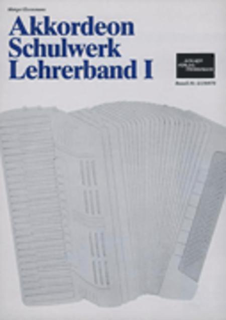 Akkordeon-Schulwerk Band 1