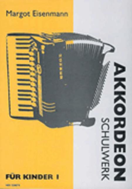 Akkordeon-Kinderspiel Beiheft 1