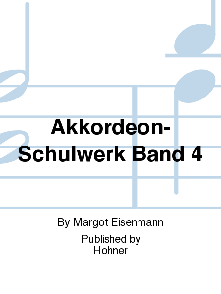 Akkordeon-Schulwerk Band 4