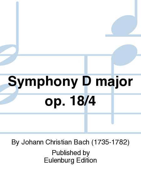 Symphony D major op. 18/4