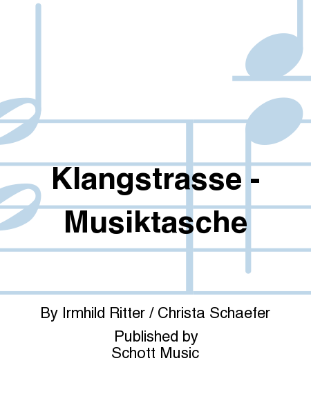 Klangstrasse - Musiktasche