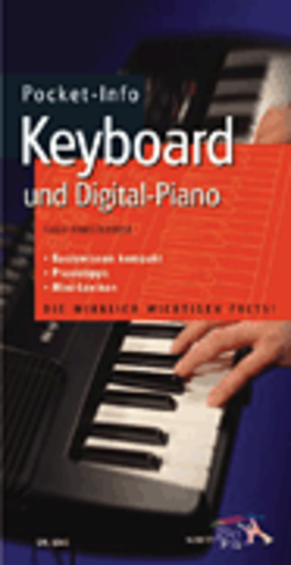 Pocket-Info Keyboard und Digital-Piano