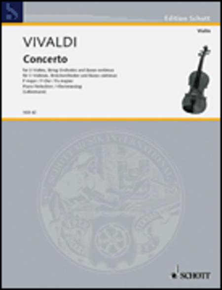 Concerto F Major PV 278