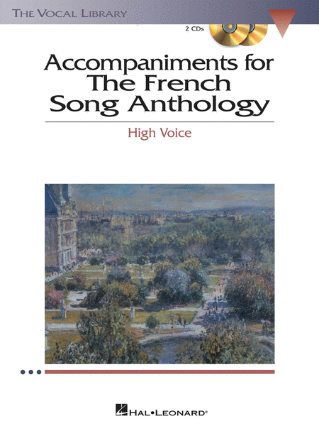 The French Song Anthology - Accompaniment CDs