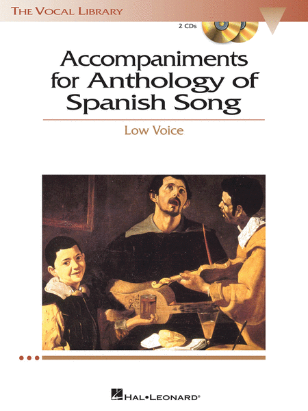 Anthology of Spanish Song Accompaniment CDs