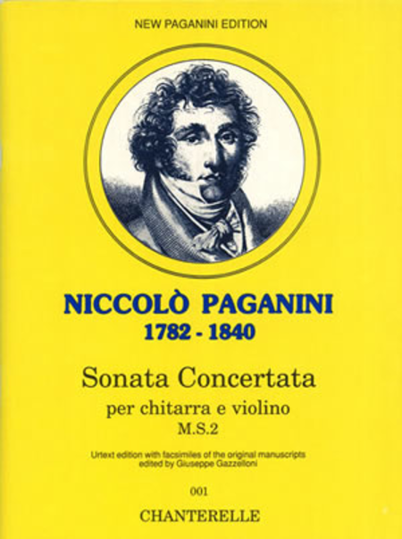 Niccolo Paganini: Sonata Concertata (M.S.2)