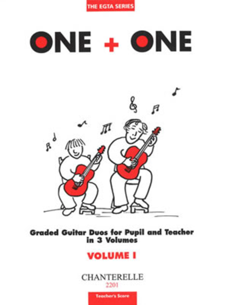 One + One Vol. 1 Teacher's Score Duos for Pupil & Teacher