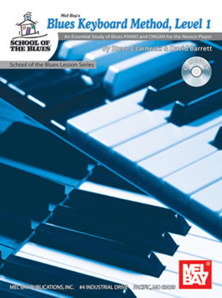 Blues Keyboard Method, Level 1