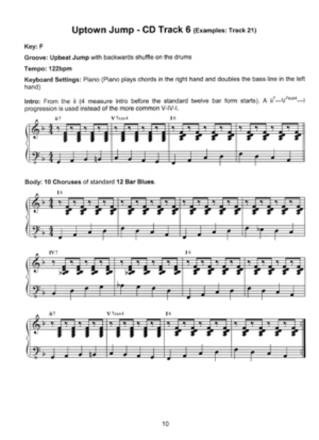 Blues Keyboard Play-Along Trax