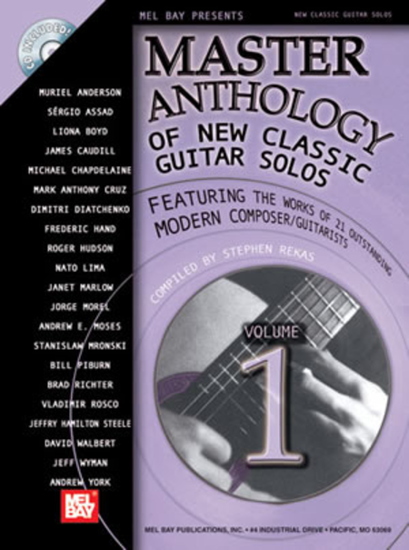 Master Anthology of New Classic Guitar Solos, Volume 1