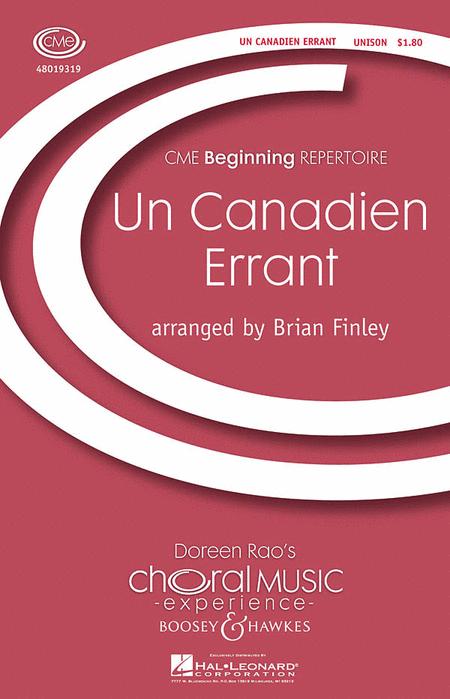 Un Canadien Errant