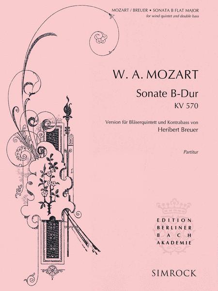 Sonata in B-Flat Major, K. 570