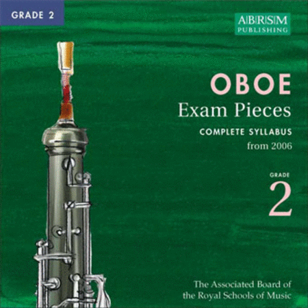 ABRSM Oboe Exam Pieces 2006 Grade 2 CD