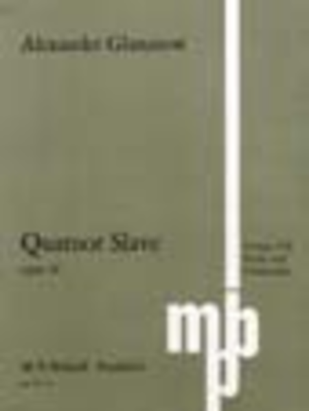 String Quartet No. 3 in G Op. 26