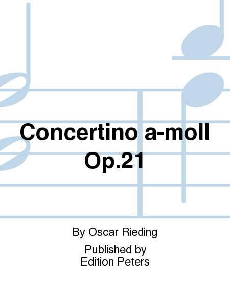 Concertino a-moll Op.21