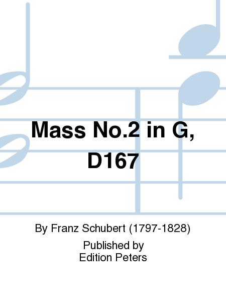 Mass No.2 in G, D167