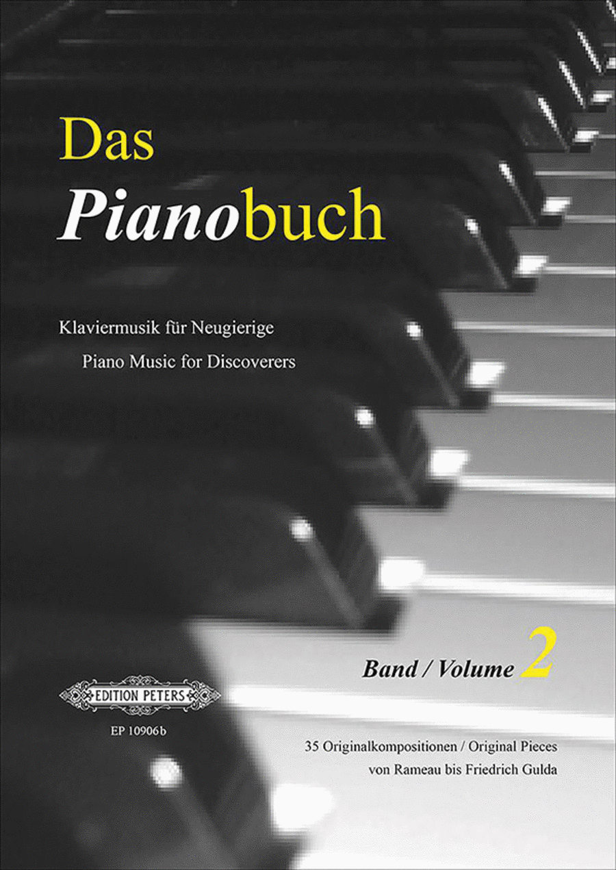 Das Pianobuch Volume 2 (Piano Music for Discoverers)