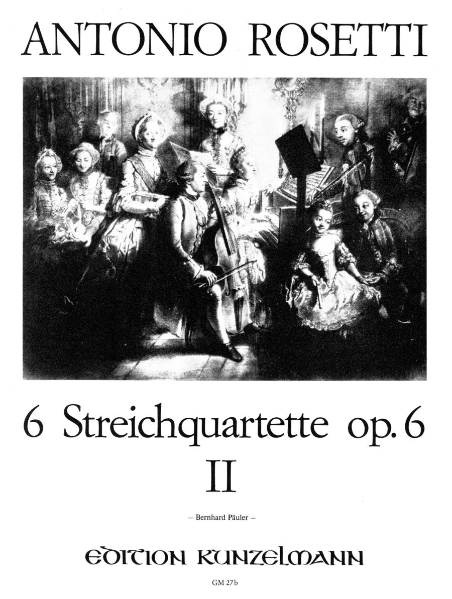 String Quartets (6), Op. 6 Vol. 2