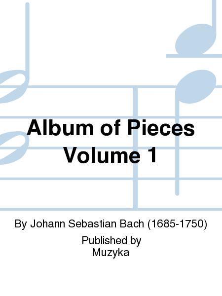 Album of Pieces Volume 1