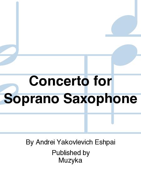 Concerto for Soprano Saxophone