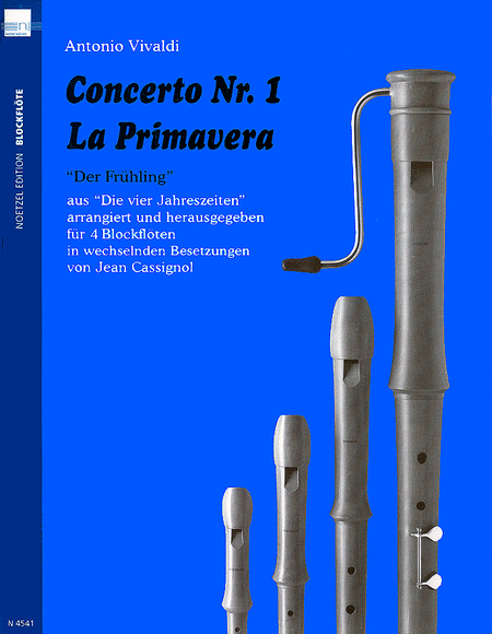Concerto Nr.1, La Primavera