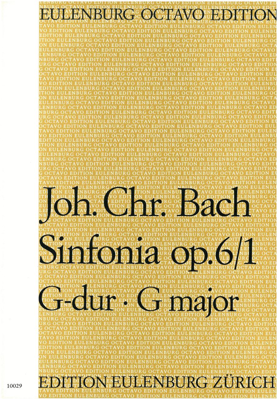 Sinfonia in G Major Op. 6 No. 1