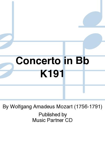 Concerto in Bb K191