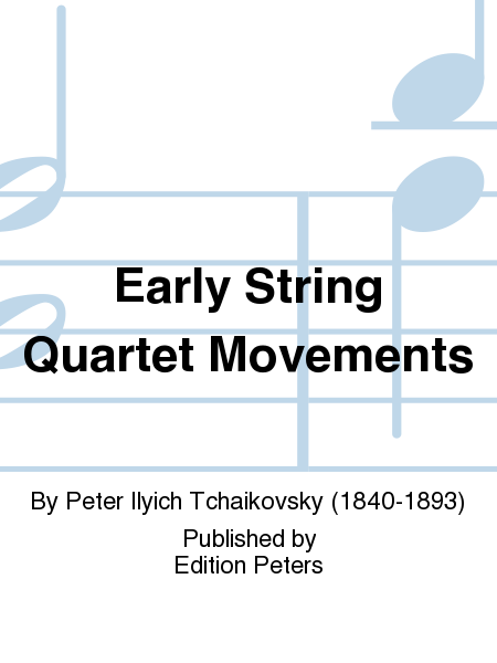 Early String Quartet Movements
