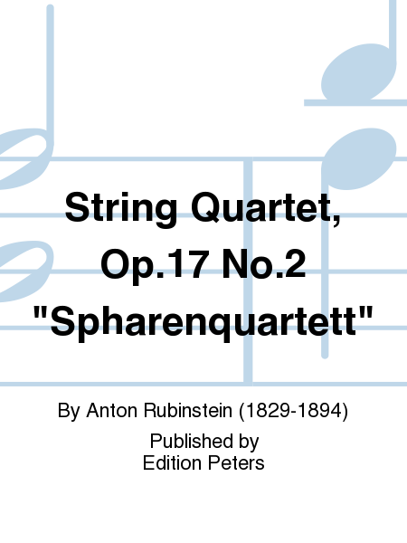 String Quartet, Op. 17 No. 2