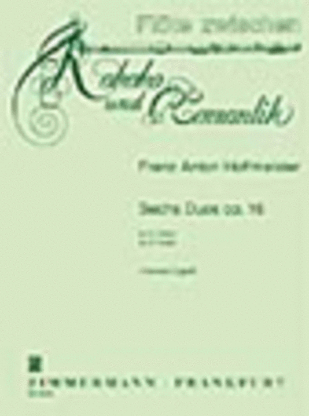Six Duos Op. 16 for 2 Flutes