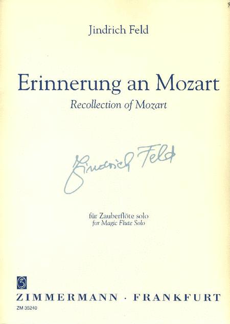 Erinnerung an Mozart (Remembrance of Mozart)