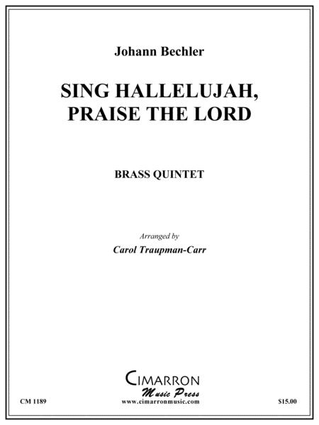 Sing Hallelujah, Praise the Lord