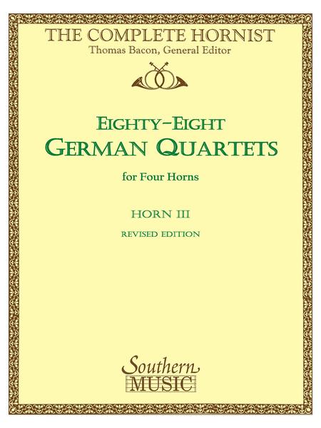 88 German Quartets