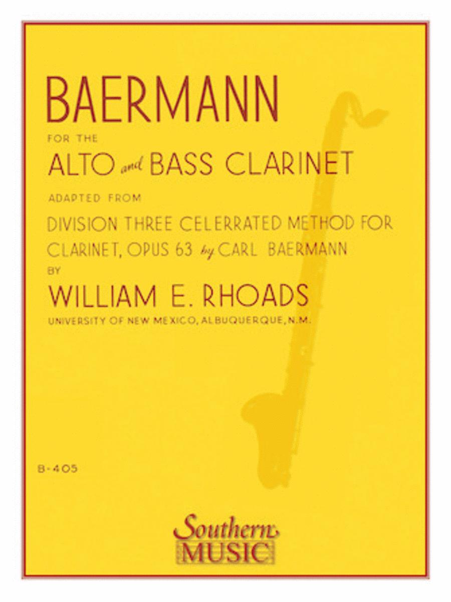 Baermann for Alto and Bass Clarinet