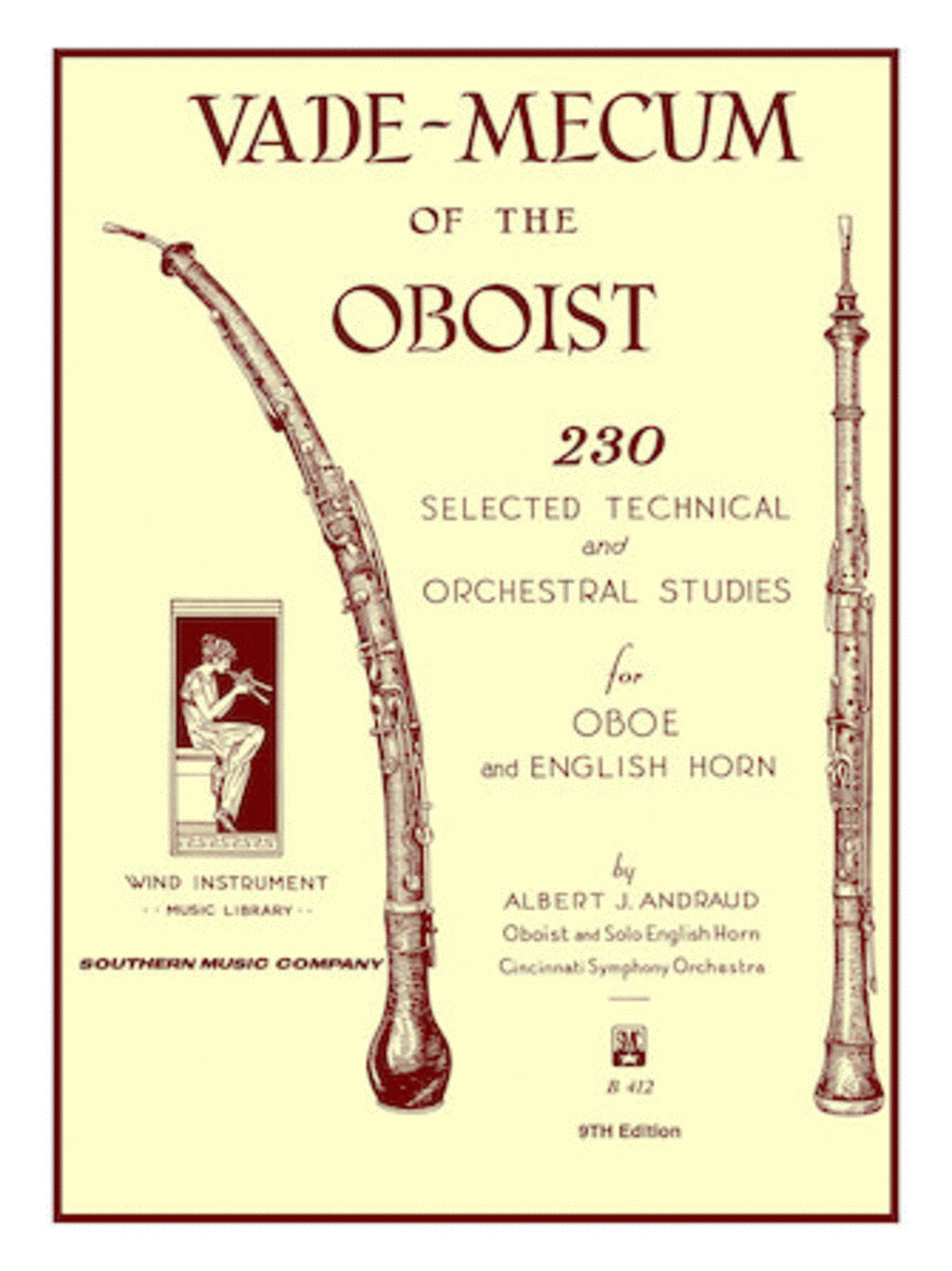 Vade Mecum of the Oboist