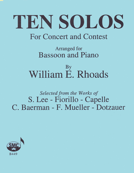 Ten Solos for Concert and Contest