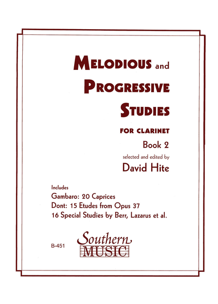 Melodious and Progressive Studies - Book 2
