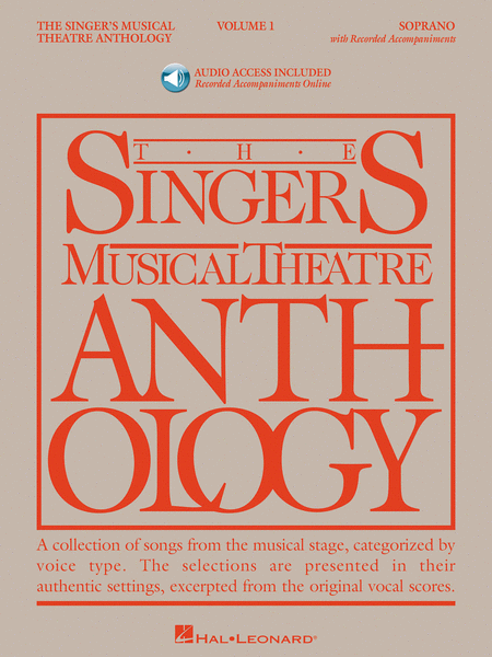 The Singer's Musical Theatre Anthology - Volume 1 - Soprano